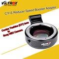 Viltrox c/y-e adaptador reforço velocidade redutor focal para contax yashica c/y lens para sony e nex a7r a7s a7 ii a6300 a6000 NEX-7/6
