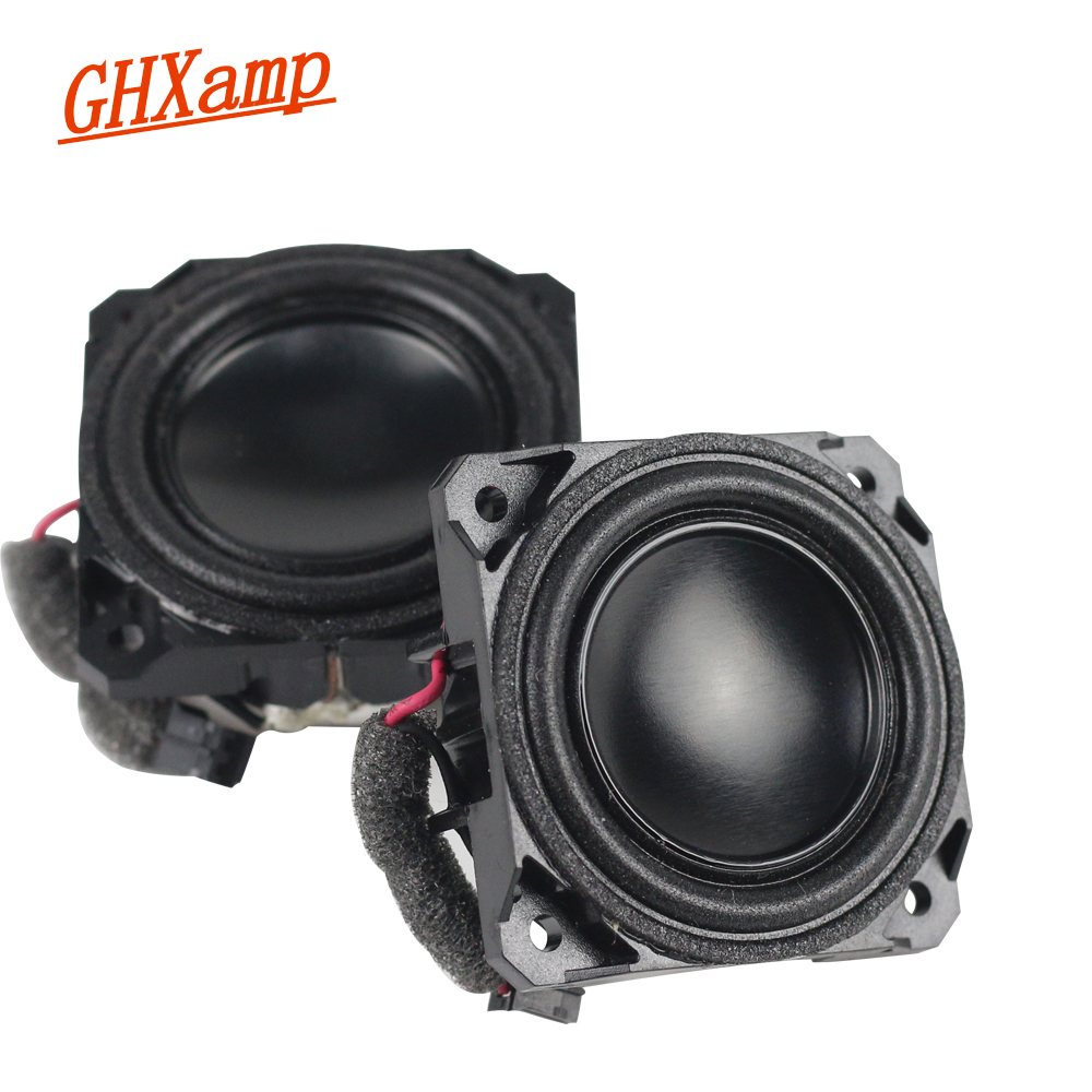 1.5 Inch 4 OHM 5W Full Range Mini Speaker Anodized Neodymium Bluetooth Speakers Human Voice Warm Natural DIY 1Pairs