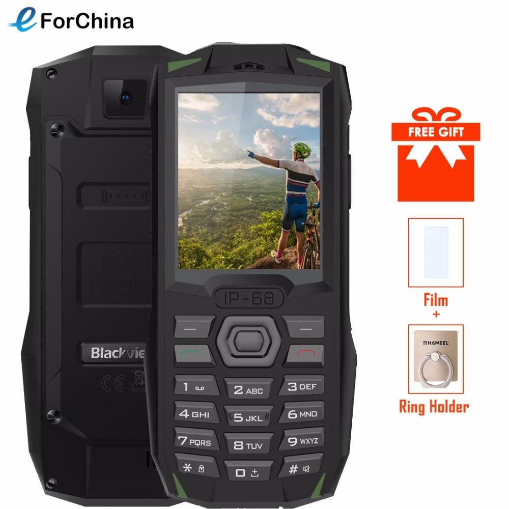 Купить Blackview BV1000 IP68 водонепроницаемый ударопрочный надежный мобильный телефон 2,4 дюймов MTK6261 3000 мАч Dual SIM мини сотовый телефон фонарик FM на Алиэкспресс