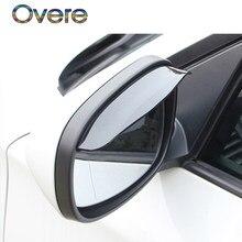 Overe – housse de rétroviseur de voiture, 1 pièce, pour Ford Focus 2 3 Fiesta Mondeo MK4 Ranger Toyota Corolla chr RAV4 yaris