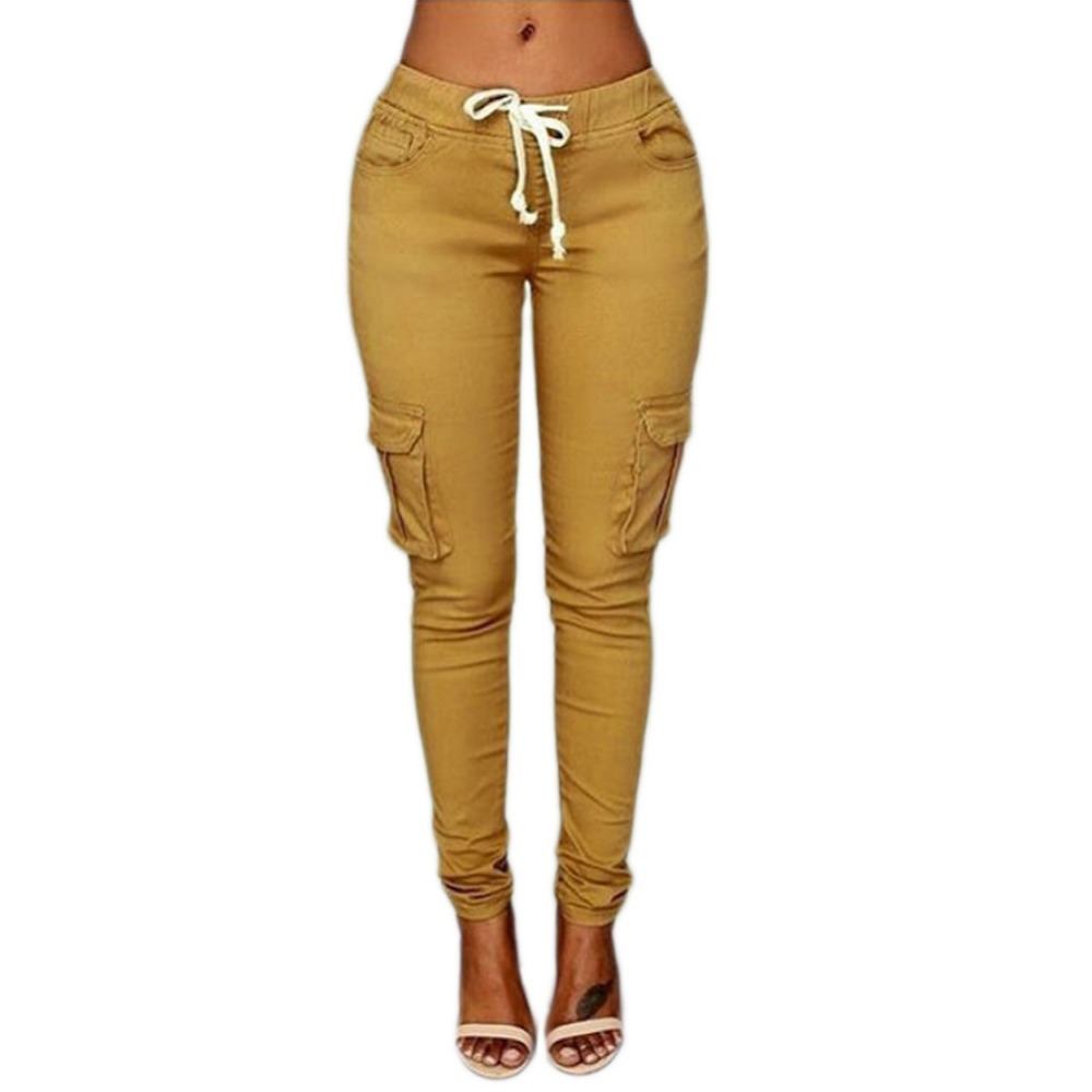 Candy Colors Elastic Sexy Skinny Pencil Jeans For Women Leggings Jeans High Waist Women's Thin-Section Denim Pants Mujer Femme