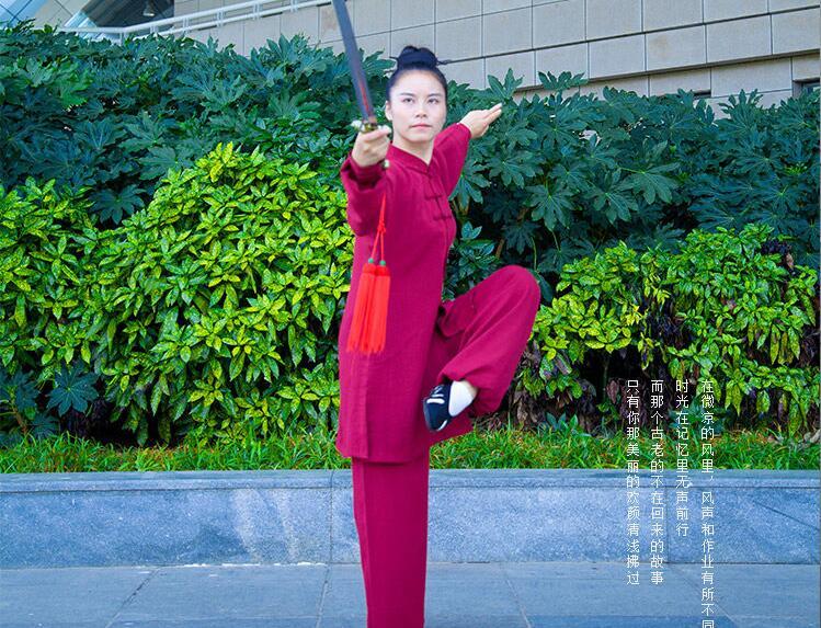 Traditional Tai Ji Daoist Uniform 4