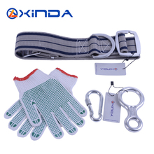 Hinda eight phrases ring safety metal belt buckle security belts slip gloves decelerate a household of 4