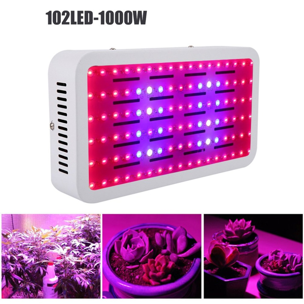 1000w Led Grow Light Full Spectrum 102 Led Light For