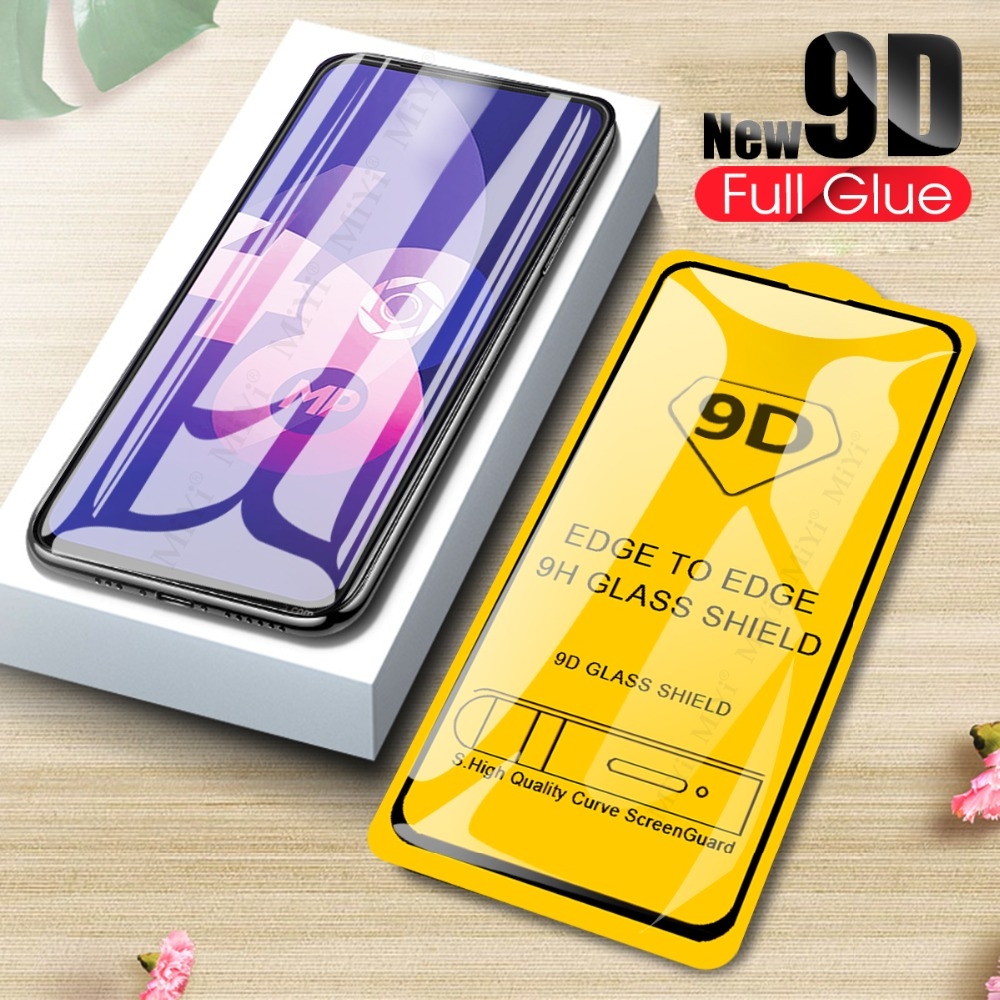 9D Tempered Glass For <font><b>OPPO</b></font> <font><b>F11</b></font> F9 <font><b>Pro</b></font> F7 F5 Youth F1s A37 A73 A59 R15 R17 Realme X 1 2 3 <font><b>Pro</b></font> C1 A3S A5 Screen Protector Film image