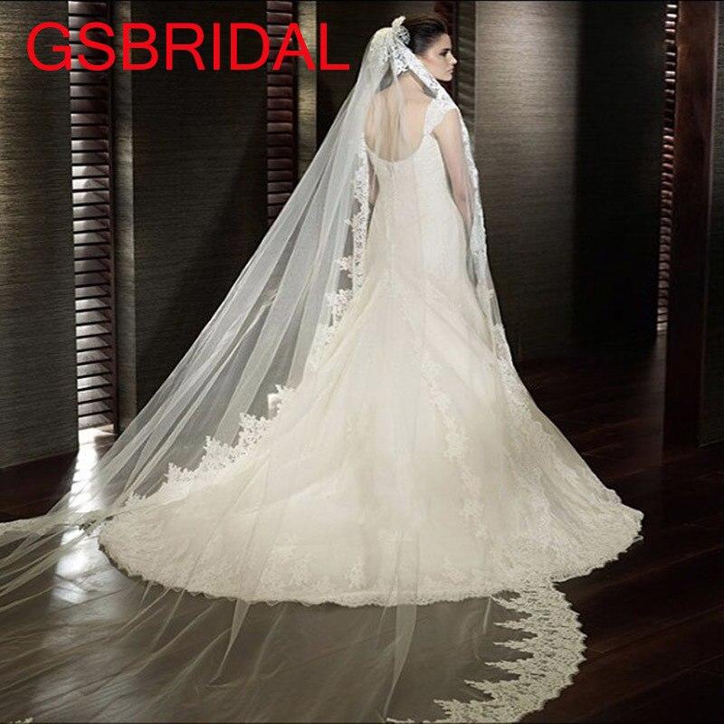 Online Get Cheap Wedding Veil Mantilla Aliexpress Com Alibaba Group