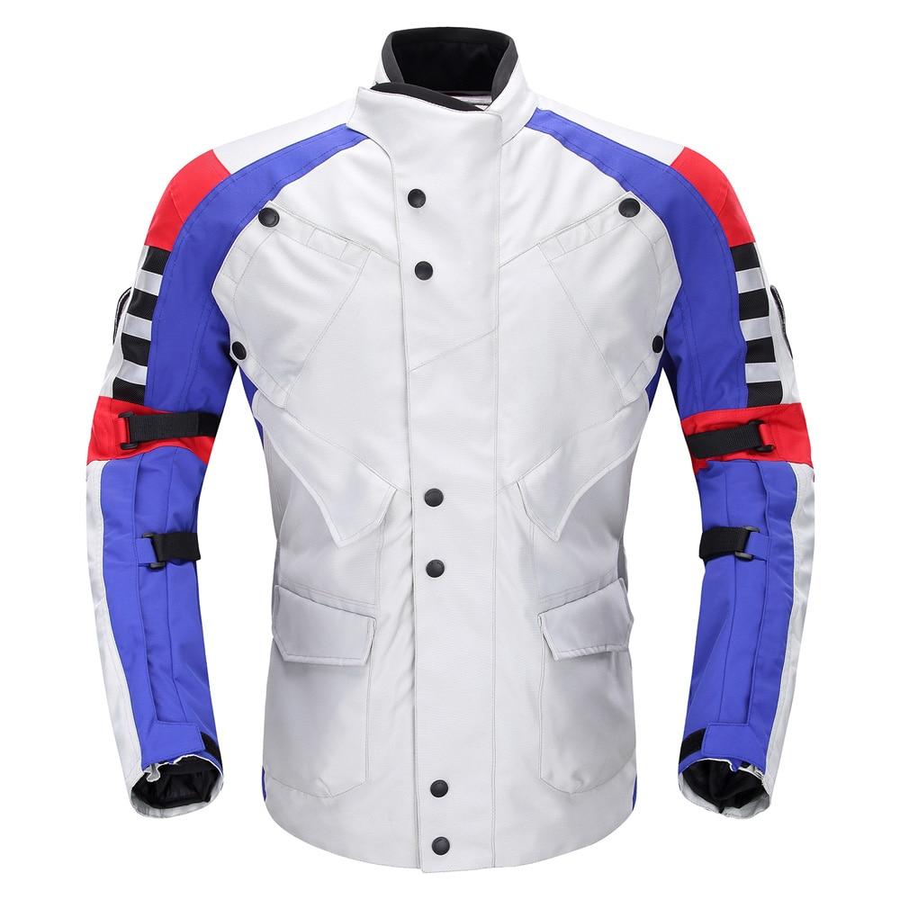 DUHAN motorcycle jacket desert eagle cruising motorbike long road travel racing jacket rally clothing HRC team coat JD115 цена