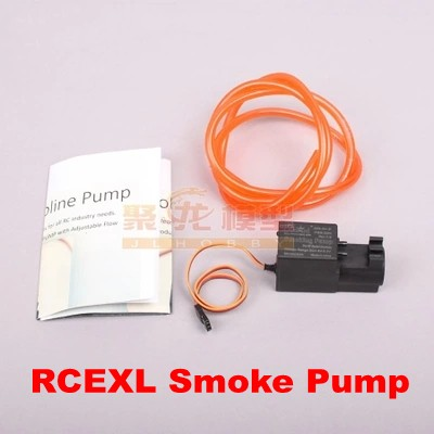RCEXL Gasoline Pump Smoking Pump with Adjustable Flow for RC Airplane