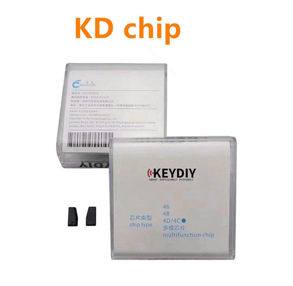 Original Auto Transponder Chip KD ID4C/4D KD ID48 ID46 Chip KD-4D KD-46 KD-48 Chip For KEYDIY KD-X2