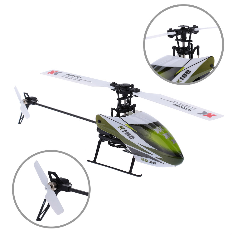 Falcon K100-B 6CH 3D 6G System BNF RC Helicopter Remote Control Aircraft Plane Electronic Flying Toys Clearance Sales (2)