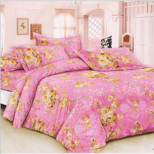 235cm*50cm/piece 100% cotton pink flower printed cotton fabric for Baby Bedding Textile Patchwork Quilt Sewing Fabric Material