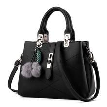 Fashion Women Thread PU leather Totes bags ladies Casual handbags satchels handbags & Crossbody bags