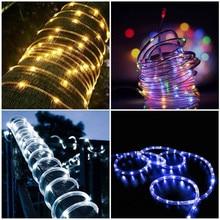 Водонепроницаемый 50/100 светодиодный Сказочный светильник на солнечных батареях, ламповая лампа, Рождественская гирлянда, декоративные садовые светильники на солнечных батареях