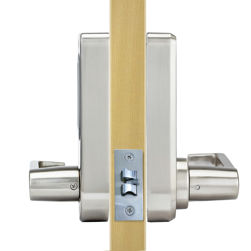Image 2 - LACHCO Bluetooth Smart Phone Electronic Door Lock APP Control, Code, Mechanical Keys For Home Hotel Smart Entry  L16073AP-in Electric Lock from Security & Protection