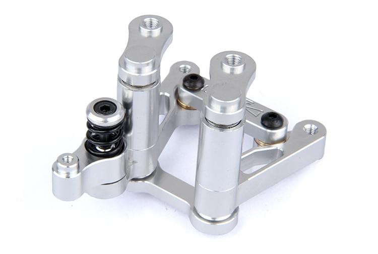 CNC metal steering wiper arm set  For 1/5 HPI Baja 5B 5T 5SC suspension arm wheel hub and steering kits fit baja 5b 5t 5sc metal parts