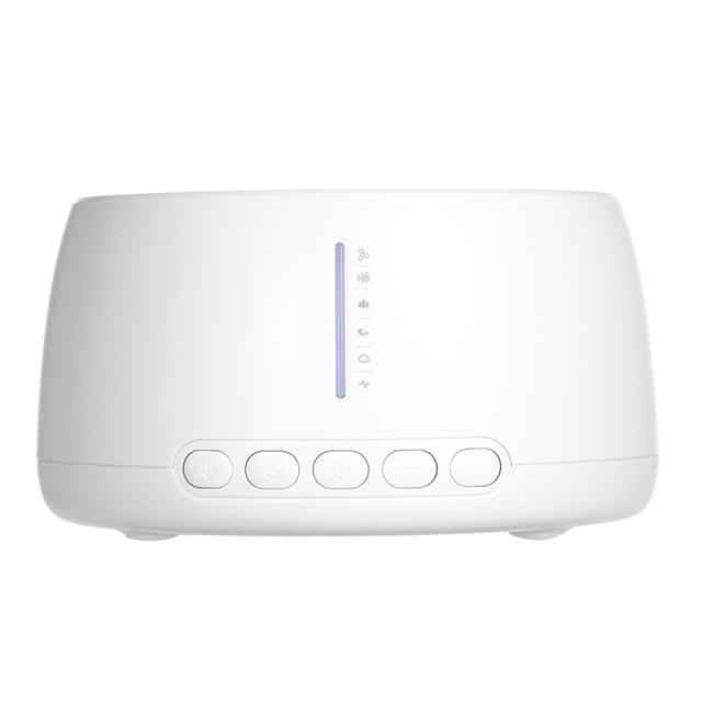 جهاز معزز لجودة النوم أبيض للضوضاء جهاز علاج صوتي مساعد للنوم جهاز علاج طبيعي للأرق