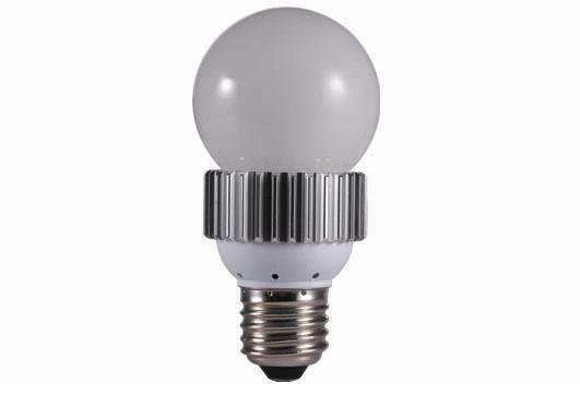 E27 high power led bulb;3*1W;270-330LM;5800-6300K;size:55mm*109mmc;cool white