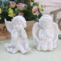 JAROWN Wedding Props Supplies Craft Gift Window Decoration Resin Angel Small Angel Home Office Decor Photography Accessories