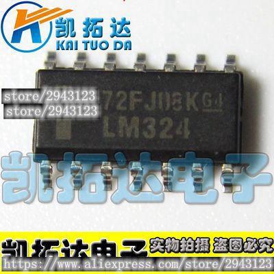 5 lm324dg único suministro Quad Amplificador Operacional Sop14