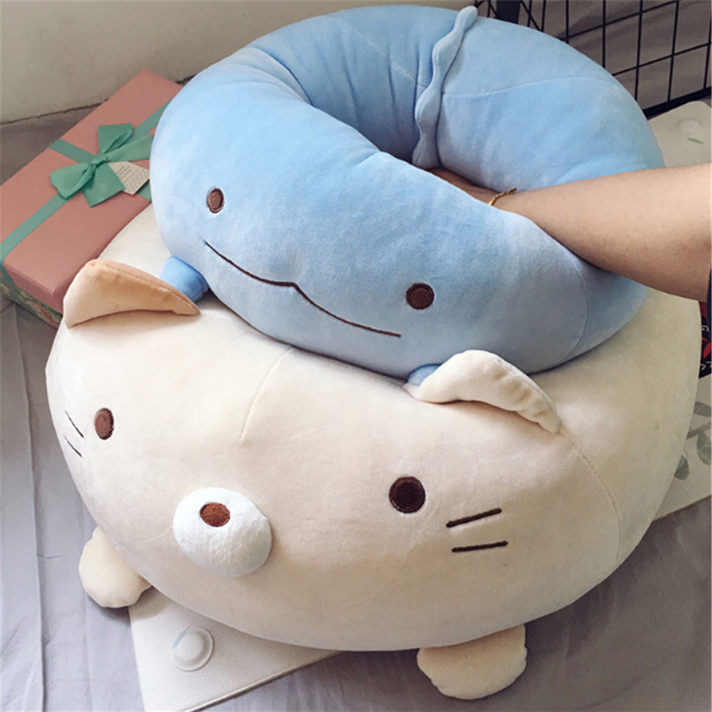 Fancytrader Cuddly Fat Cat Penguin Bear Plush Toys Super Soft Stuffed Animals Pillow Doll 4 Colors пинетки митенки blue penguin puku