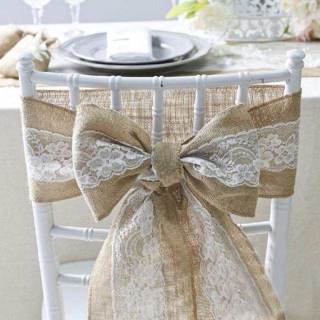 240 Cm 15 Cm Vintage Jute Burlaps Mit Fur Hochzeit Dekoration In