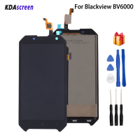 Original For Blackview BV6000 LCD Display Touch Screen Mobile Phone Parts For Blackview BV6000 Screen LCD Display Free Tools