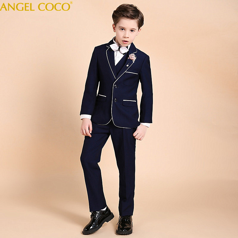 Nimble Suit For Boy Single Breasted Boys Suits For Weddings Costume Enfant Garcon Mariage Boys Blazer Jogging Garcon Blue Suits nimble boys suits for weddings costume enfant garcon mariage suit boy single breasted kids wedding suit blazer boys prom suits