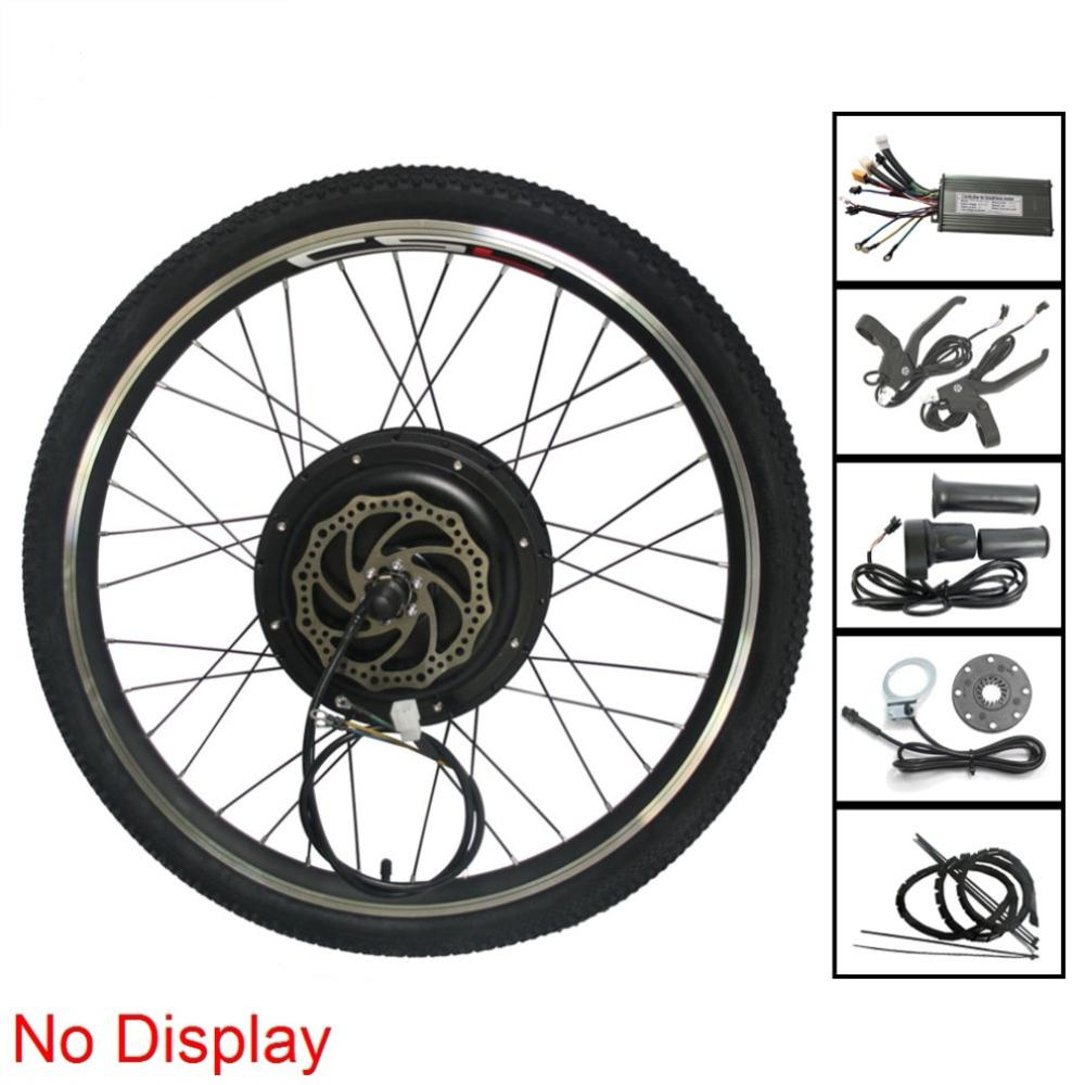 48V MTB Ebike Conversion Kit without Display 500 1000 1500W 20 29 700C Electric Mountain Bike