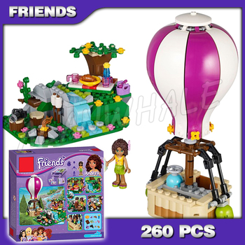 260pcs Friends New 10546 Girls Princess Heartlake Hot Air Balloon 3D Blocks AlanWhale Toy Gift Compatible with Lago фото