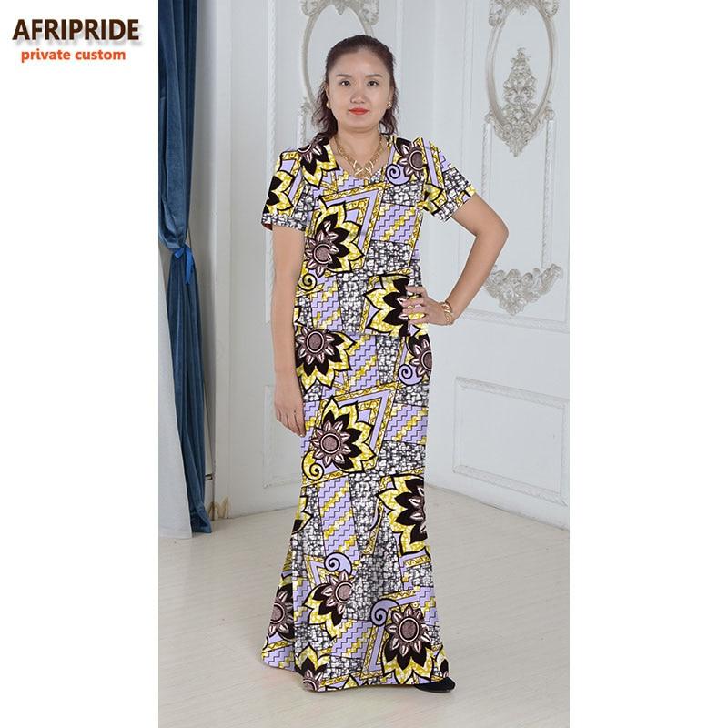 Gaun elegan Afrika ditetapkan untuk wanita femmes gaya afrika pakaian - Pakaian kebangsaan - Foto 3