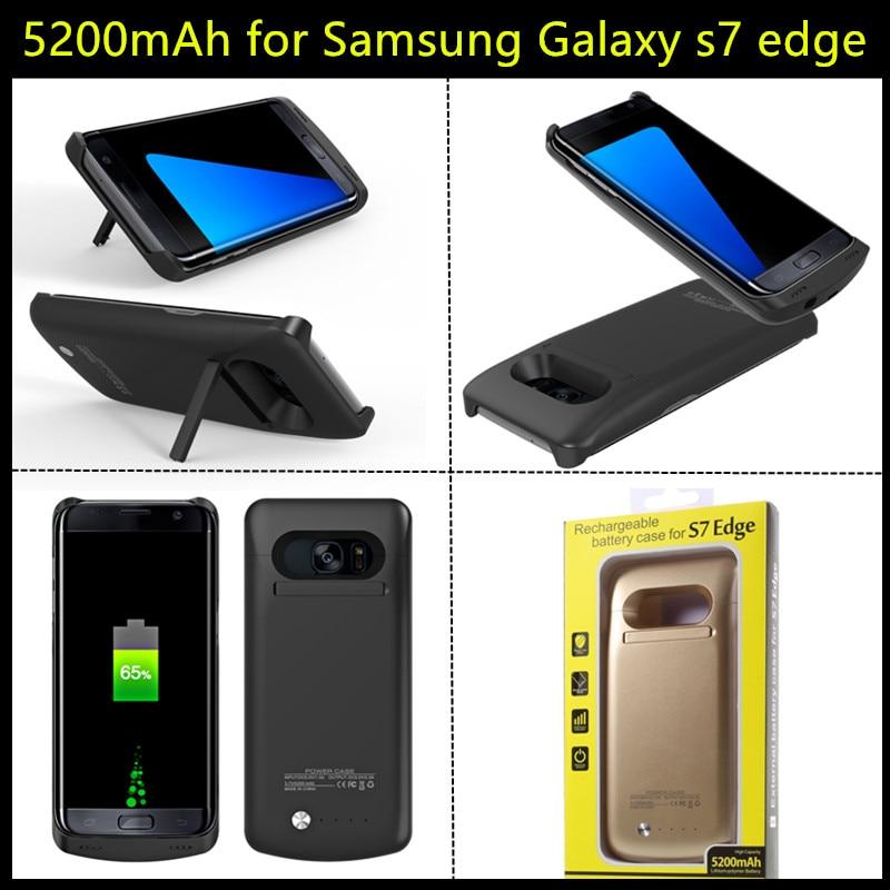 imágenes para Ultra Delgado Banco de la Energía Del Cargador de Batería Externo de Reserva Portable Para Samsung Galaxy S6/S6 egde/S6 edge plus/S7/S7 Borde caso