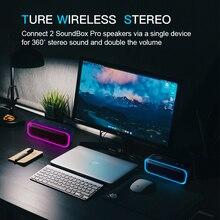DOSS SoundBox Pro TWS Wireless Bluetooth Speaker