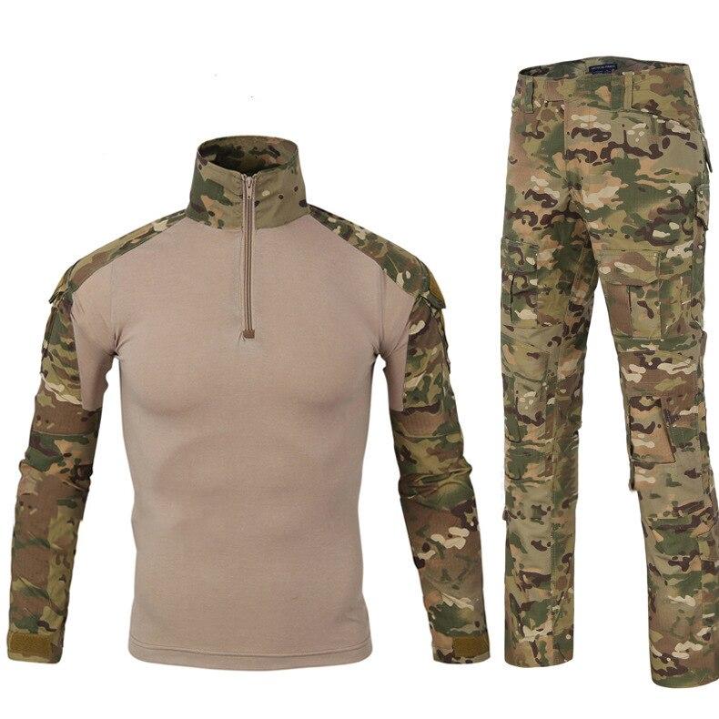 Tactique uniforme militaire de camouflage Vêtements costume pour homme NOUS les vêtements de L'armée Militaire pull militaire pantalon cargo uniforme militaire Bataille