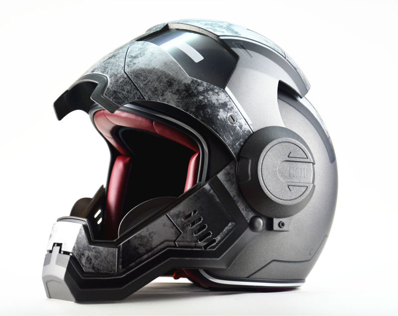 Casque moto war machine