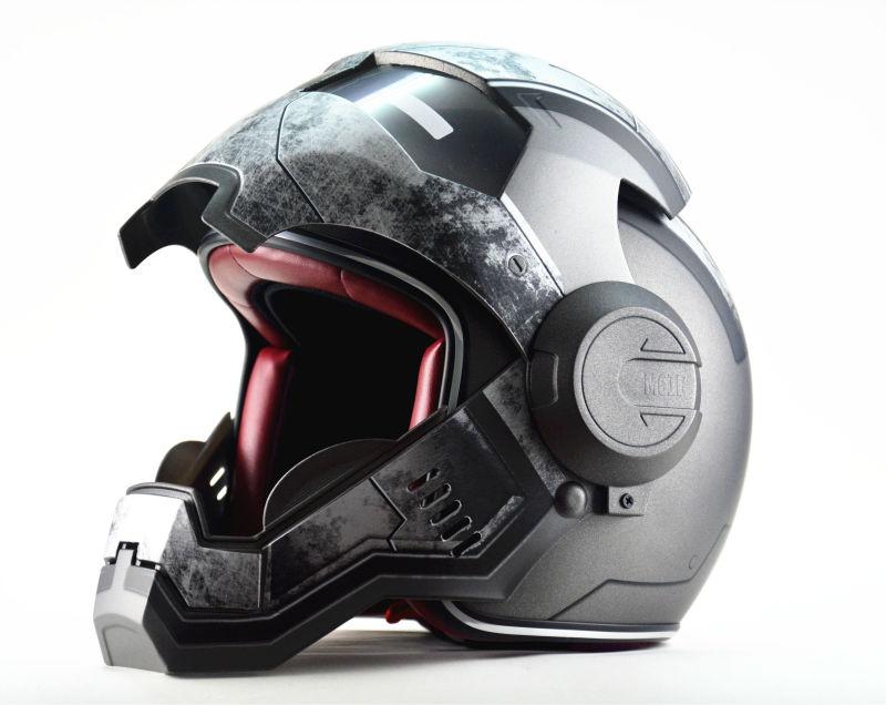 Casque moto war machine