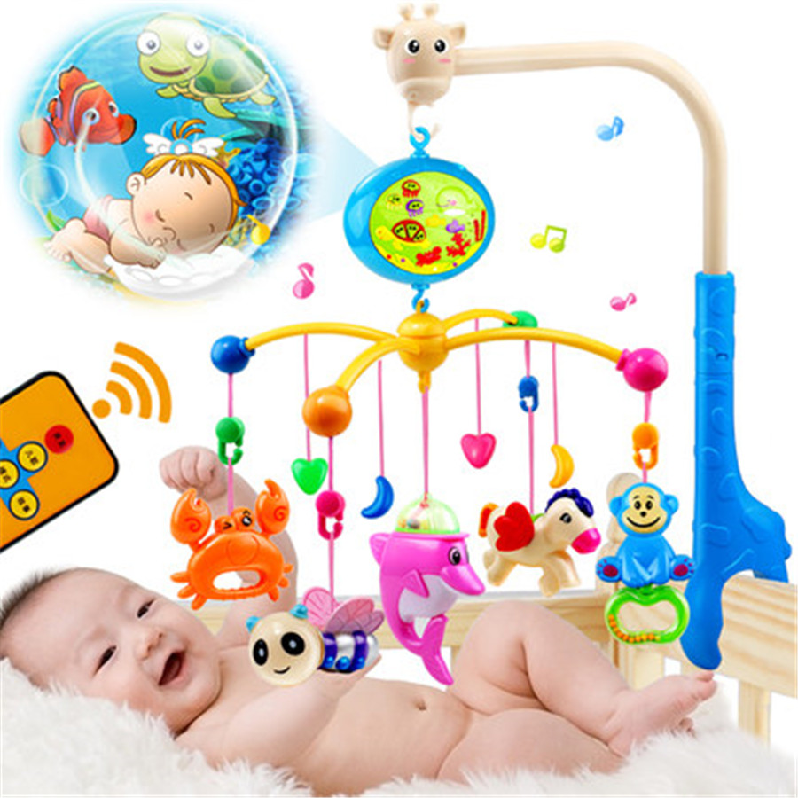 Baby Rattle Toys Musical Plastic Rattles 0-12 Months Bed Wind Bell Toy Giraffe Teethers Knuffels Shaker Toys For Babies 705430 newborn baby bed rotary music bell toy baby stroller toy rattles accessories pendant