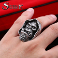 steel soldier warcraft  Gul'Dan Ring for men unique detail ring Stainless Steel ring Cool New Designed Fashion Jewelry