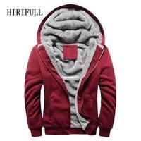 Hoodies Sweatshirt Men 2017 New Autumn Winter Warm Thick Solid Casual Brand Tracksuit Men S Sweatshirts