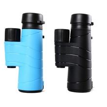Buy online 2016 new arrival all-optical HD waterproof FMC film monocular telescope 10X42 binoculars for outdoor travel hunting