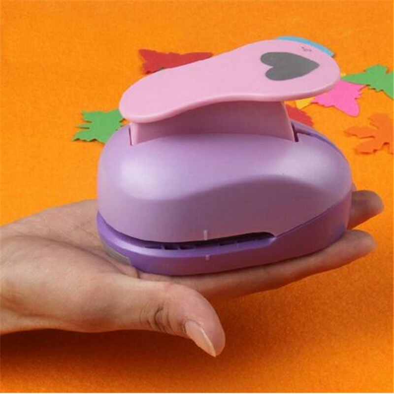 цена на 4.6cm DIY Paper Printing Card Cutter Scrapbook Shaper extra large Embossing device Hole Punch Kids Handmade Craft gift Stamping