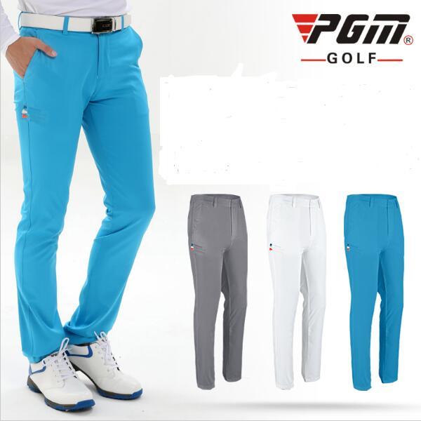 The new PGM genuine Golf mens slim pants TEE pocket Golf trousers summer ball plug freeshipping