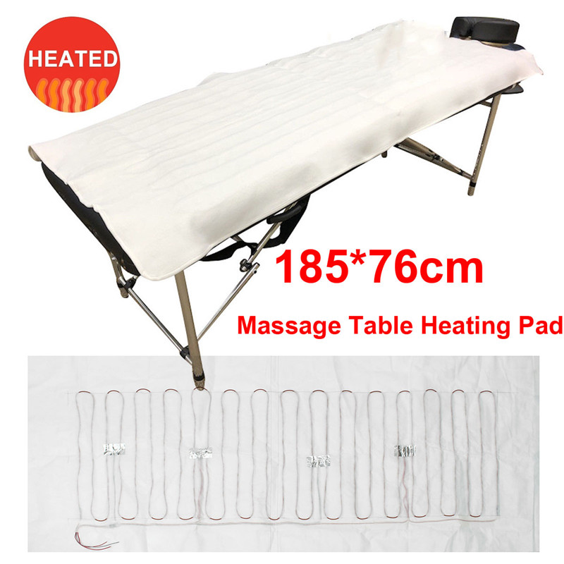 Massage Bed Table Heating Pad Heat Warmer Cushion Full Body Hot Massager Relax Therapy Salon Household Health Care 185*76CMMassage Bed Table Heating Pad Heat Warmer Cushion Full Body Hot Massager Relax Therapy Salon Household Health Care 185*76CM