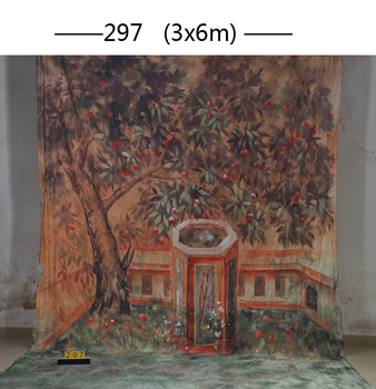 2017 10*20ft Hand Painted cloth photography background wedding,toile de fond studio photo 01, muslin scenic photo backdrops