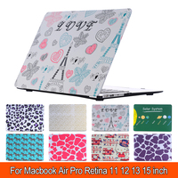 Mode Laptop Cover Case Voor Apple Macbook Air 13 Case Air 11 Pro 13 Retina 12 13 15 Laptoptas Voor MacBook Pro Case