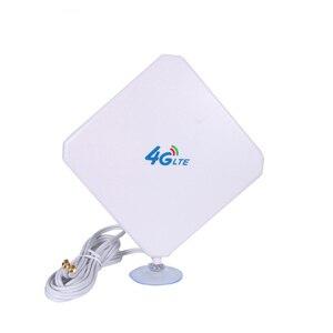 Image 2 - 3グラム4 4g lteアンテナsma CRC9 TS9コネクタ無線lan信号ブースターアンテナ35dBi屋内4 3gインターネット受信機ためワイヤレスモデムルータ