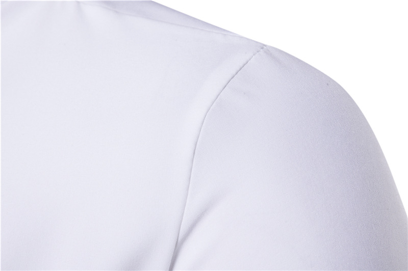 John'S Piekarnia 2017 Koszule Męskie Z Długim Rękawem Slim