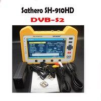 SH910 HD Sathero SH 910HD DVB S2 цифровой сатфайндер метр Satfinder HD с реального времени анализатора спектра Функция HD Outpu