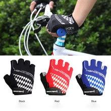 Качество велосипедные перчатки без пальцев, митенки W/дышащие ткани гель подушки махровой ткани Quick Release Съемник спортивная одежда унисекс