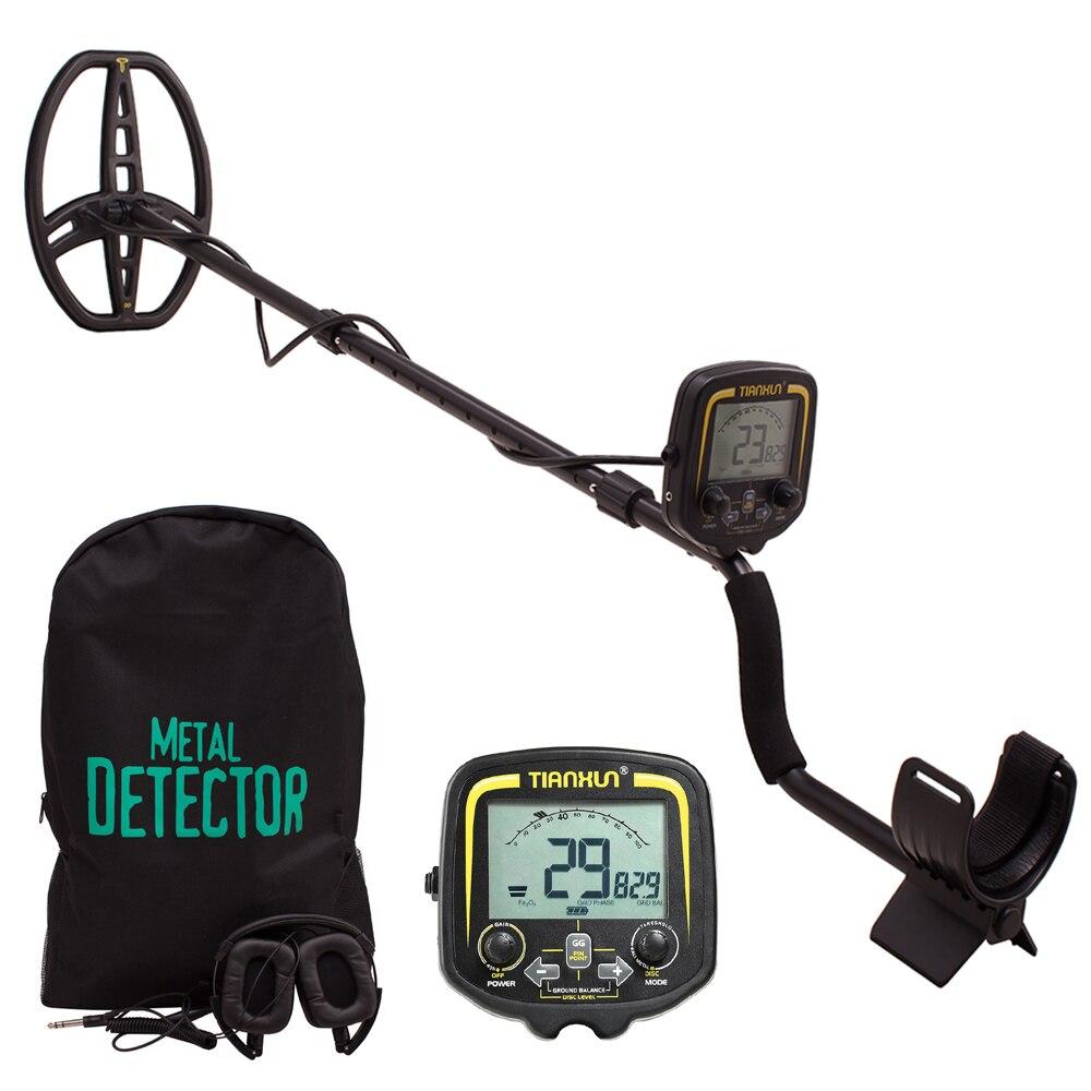 Professionnel En Métal Detecto TX850 Souterrain Profondeur 3.5m Scanner Recherche Finder Détecteur D'or Chasseur de Trésor Détection Pinpointer