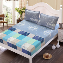 Home textile bed sheet set flower mattress cover printed bed sheet elastic rubber bedclothes 180*200cm summer bed cover fitted